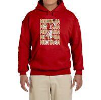 San Francisco 49ers Joe Montana Text Pic Hooded Sweatshirt