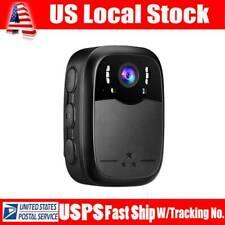 Boblov 8X Digital Zoom 1296P Hd Police Body Worn Camera Recorder 40ft Darkness