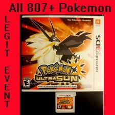 Pokemon Ultra Sun Loaded With All 807 + 100+ Legit Event Pokemon Unlocked
