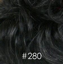 Gray Short Wavy Full Wigs for Men Black/Brown/Blond