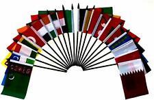 "Southeast Africa World Desk Flag SET-20 Polyester 4""x6"" Flags"