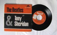 THE BEATLES & TONY SHERIDAN  MY BONNIE CRY FOR A SHADOW EP POLYDOR E 76586 HI-FI