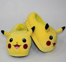 Pokemon Go Pikachu Plush Slipper Shoes Kids Boy Stuffed Indoor Home Warm 23cm