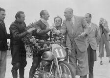 Mondial 125cc factory racer Nello Pagani winner 1949 Dutch TT Assen Grand Prix