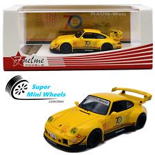 """FuelMe 1/64 RAUH-Welt BEGRIFF RWB Porsche 911 (993)  """"Cinderella"""" (Yellow)"""