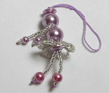 Assorted Color Ballerina Beads Cell Phone Bags Charms Strap NEW