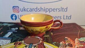 Vallauris French Yellow Ceramic Mug