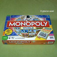 Monopoly World mit Bankkartenleser ab 8 Jahren von Parker rar 1A Top!