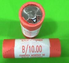 Panama coins new issue 1/4 Balboa 2017(2019) Rolls 40 Pcs Dr. Justo Arosemena