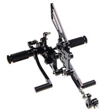 Adjustable Rear Sets Rearsets Footpegs for RSV 1000 R FACTORY 04 05 06 07 08 New