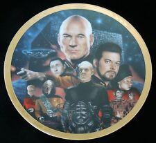 "Star Trek The Next Gen ""Best of Both Worlds"" Episode Hamilton Collectors Plate"