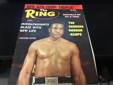 THE RING JAN 1965 SONNY LISTON COVER BOXING MAGAZINE RARE COOL GOOD CONDITION