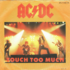 Vinyl single: AC/DC-Touch to much-Live Wire German 1st. Press