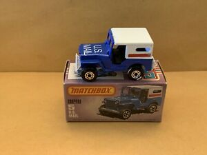 Vintage Matchbox Superfast No. 5 US Mail Truck Jeep With Box