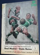 More details for 1959 european cup final - real madrid 🇪🇦 v stade reims 🇨🇵