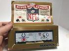 1991 ORIGINAL MANTUA NFL SUPER BOWL EXPRESS BOX CAR H.O.Indianapolis Colts OB