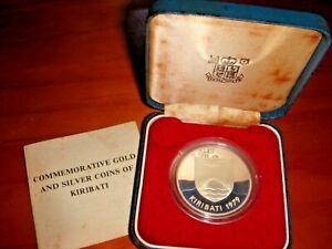 Kiribati 1979 $5, 925 Sterling Silver* Proof Coin