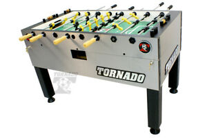 Tornado T-3000 Foosball -3 man goalie -  FREE 6 pack of Tornado Balls !
