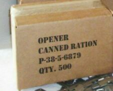 US FREE SHIPPING * New 6pc Can Opener Original Military Issue P-38 P-38