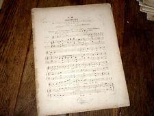 Boscareccia air de Joconde partition piano ou harpe et chant 1830 Nicolo