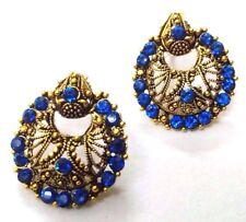 Golden Oxidized Earring Bali Jewelry Jhumka Ethnic Imitation Drop Dangle EA146