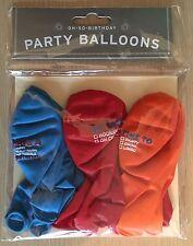 New Knock Knock Oh-So-Party 15 Oh-So-Birthday Balloons -Tick Box Multiple Choice