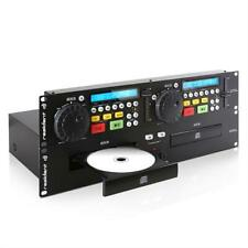 EQUIPO PROFESIONAL RESIDENT DJ JY-2CD DOBLE REPRODUCTOR CD CUE PITCH RACK 48CM