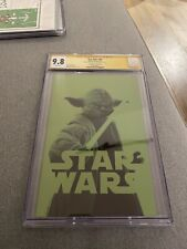 Star Wars #66 Yoda Negative Space Variant CGC 9.8 Signed