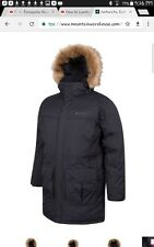 Men's Duck & feather  Down waterproof Insulated Parka Jacket RRP £249.99- BNWT