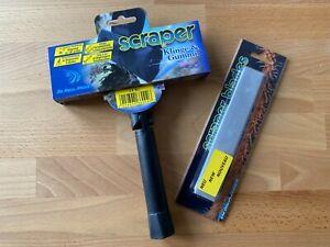 Aqua Medic Scraper + Blades Ersatzklingen Klingenreiniger Scheibenreiniger