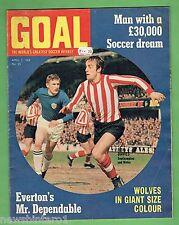 #Aa. Goal Football Soccer Magazine #35 5/4/1969, Wolverhampton Centrefold