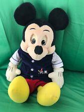 """Worlds of Wonder Walt Disney Talking Mickey Mouse Cassette Doll 25"""" (READ)"""