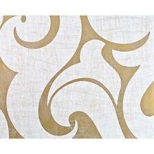 Marburg Rae Scroll Damask Pattern Wallpaper Modern Embossed Metallic Gold 53142