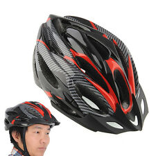 Cycling Bicycle Helmets Honeycomb Adult Road Red carbon Protection Helmet