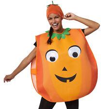 Unisex Costume Zucca Pumpkin Casacca spaventoso Vestito Carnevale Halloween nuov