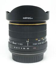 Walimex Pro 8 mm F/3.5 MF Fish-Eye Objektiv