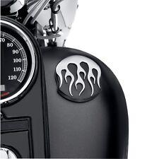 Tankdeckel Flames Mitternacht Harley Davidson