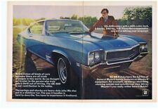1968 BUICK GS 400 / 400/340-HP  ~  NICE 2-PAGE ORIGINAL MUSCLE CAR AD