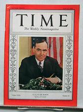 April 11, 1938 TIME Magazine- GOP's Joe Martin- News/Photos/Ads  VG