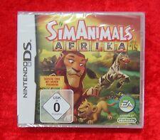 SIM Animals Afrika, Nintendo DS Spiel, Neu, deutsche Version