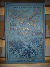 AVIATION: Les Ailes dans la Bataille, 1920, Cap Bornecque & De Valforie,105 grav