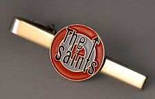 Southampton FC Saints Target Quality Chrome and Enamel Tie-pin