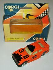 Alter Corgi, Ford Capri Gr. 5 Zakspeed, orange, #52, in OVP, Rarität