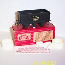 More details for rare original 1964 hornby dublo 4654 rail cleaning wagon exc condition, fair box