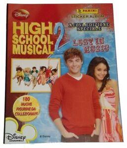 High School Musical 2 Lost in Music Empty Album Panini