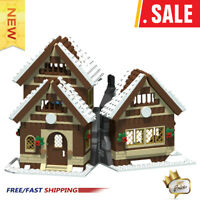 MOC-47615 Winter House 665 PCS Good Quality Bricks Building Blocks