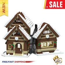 MOC-47615 Winter House 665 PCS Good Quality Bricks Building Blocks