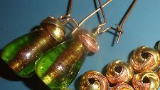 BEAD CAPS ~  LOVE KNOTS  10 mm   VINTAGE BRASS & COPPER     24 pcs.