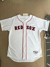 David Ortiz Majestic Athletic Authentic Boston Red Sox Home White Jersey 48 XL