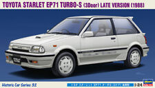 Hasegawa 21132 HC-32 1/24 Scale Model Car Kit Toyota Starlet EP71 Turbo-S 1988